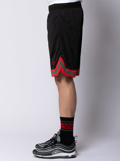 Young and Reckless Mens - Bottoms - Shorts Nitrous Basketball Shorts - Black