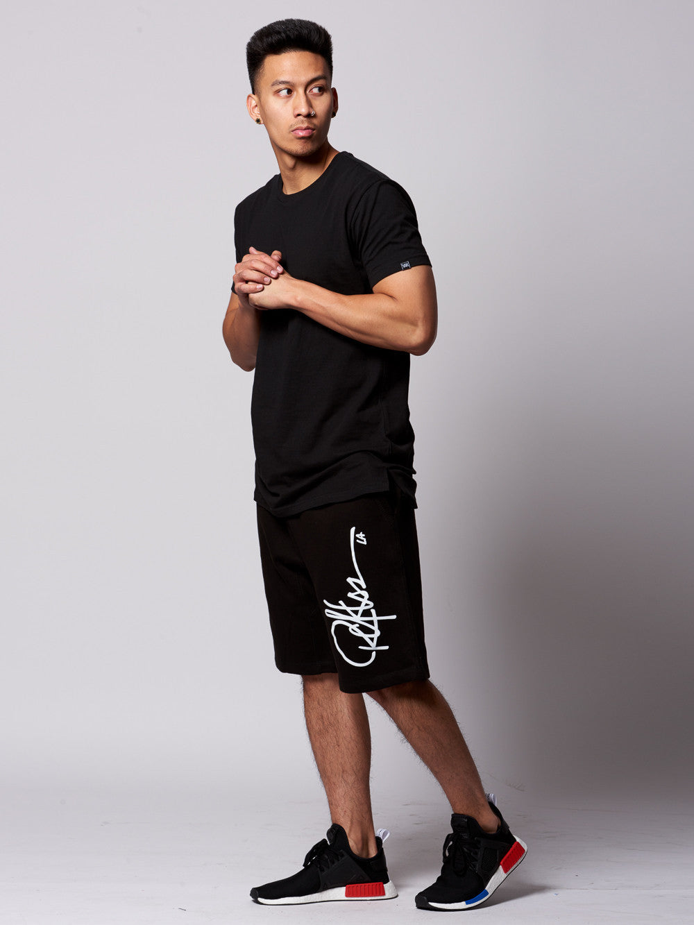 Young and Reckless Mens - Bottoms - Shorts Signature Sweatshorts- Black