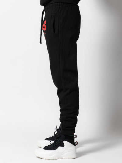 Young and Reckless Mens - Bottoms - Sweatpants Breakout Sweatpants - Black