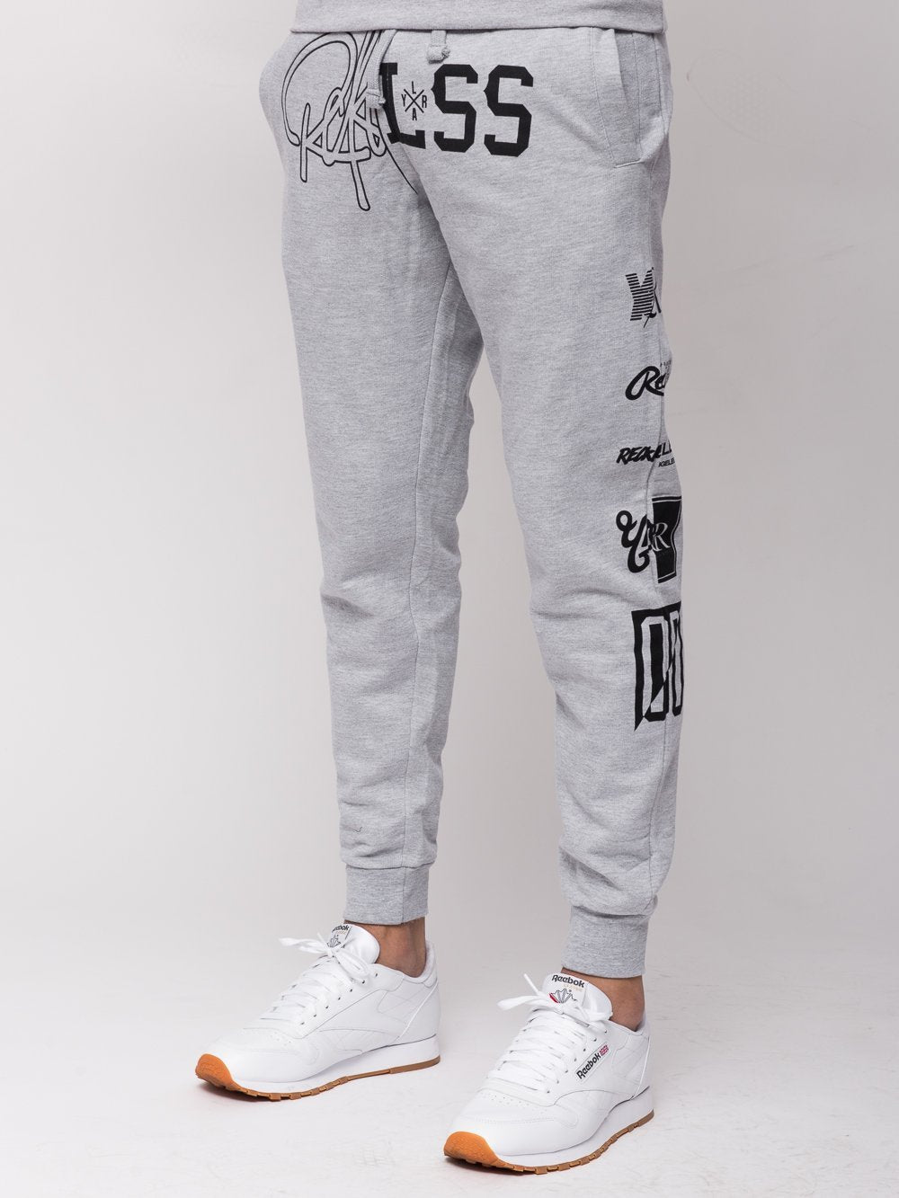Young and Reckless Mens - Bottoms - Sweatpants Derailed Sweatpants - Heather Grey