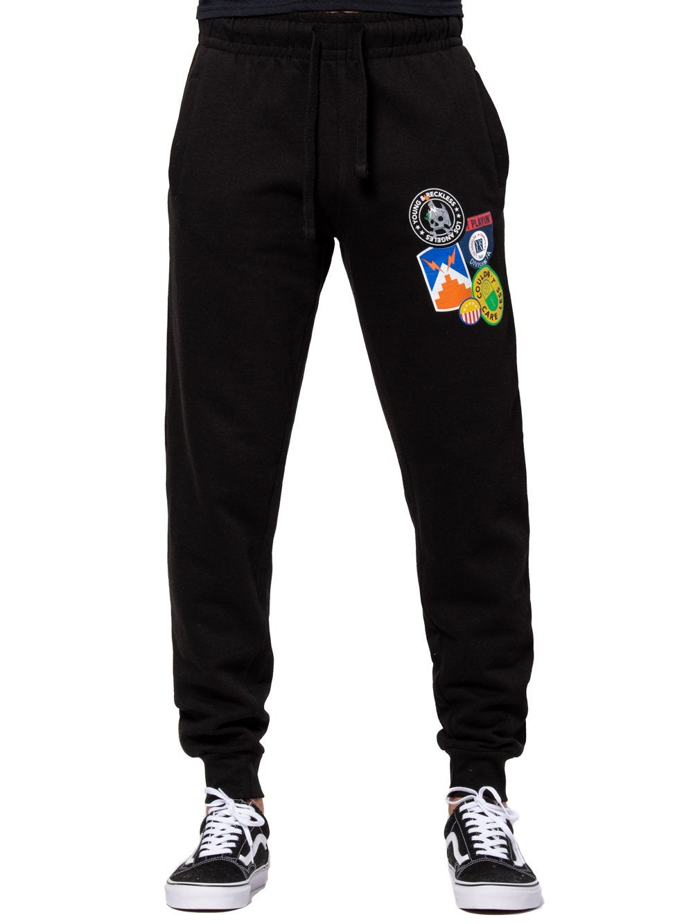 Young and Reckless Mens - Bottoms - Sweatpants Emery Sweatpants - Black