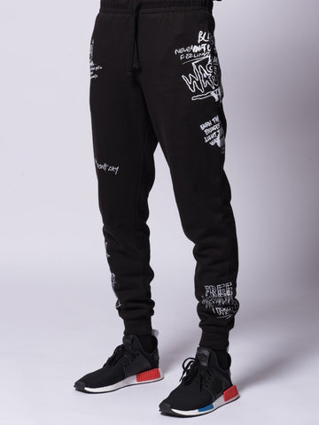 Griffon Sweatpants- Black