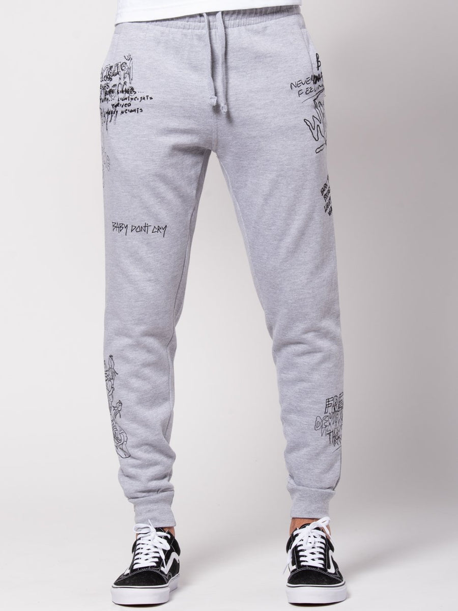 Griffon Sweatpants - Heather Grey
