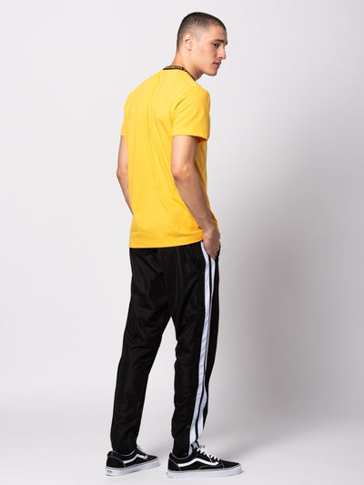 Young and Reckless Mens - Bottoms - Sweatpants Heron Track Pants - Black/White