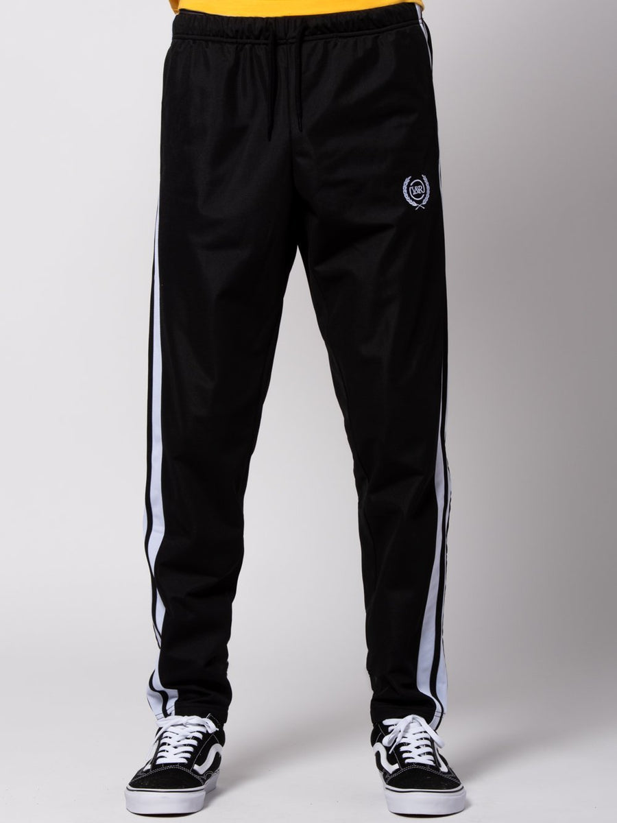 Heron Track Pants - Black/White
