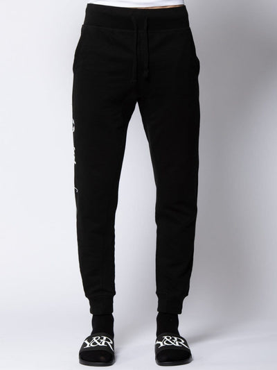 Young and Reckless Mens - Bottoms - Sweatpants Interface Sweatpant - Black S / BLACK