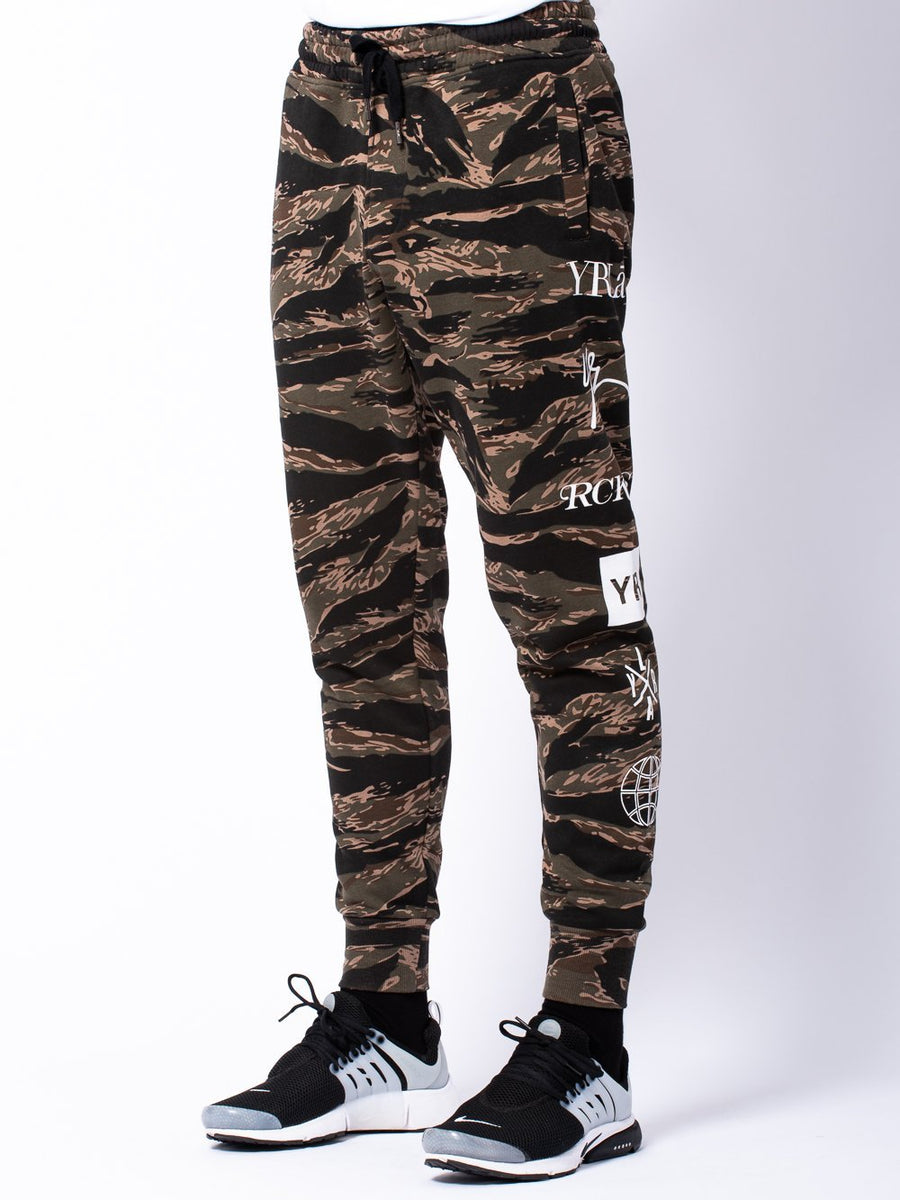 Micah Sweatpants- Tiger Camo
