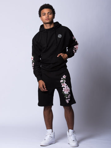 Orchid Sweatshorts - Black