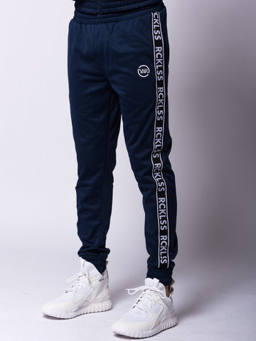 Young and Reckless Mens - Bottoms - Sweatpants Pursuit Track Pants - Navy