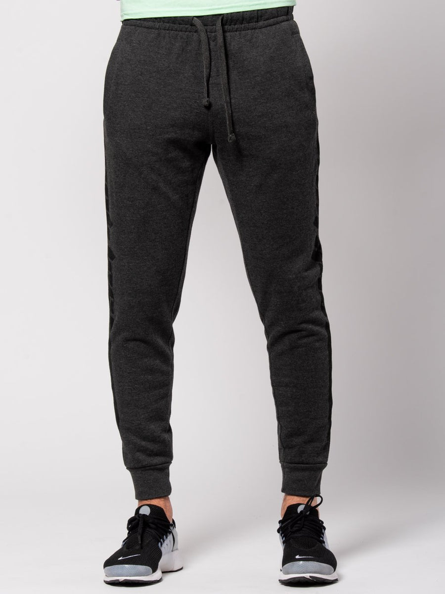Racer Sweatpants - Charcoal Grey