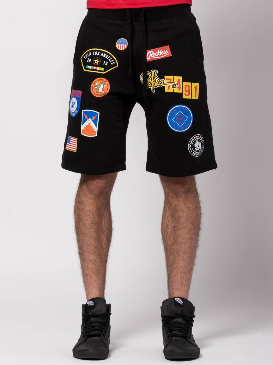Shellback Sweatshorts - Black
