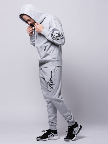 Signature Sweatpants- Heather/Black