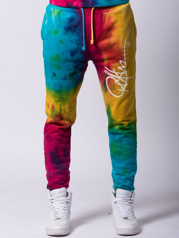Young and Reckless Mens - Bottoms - Sweatpants Signature Sweatpants - Rainbow