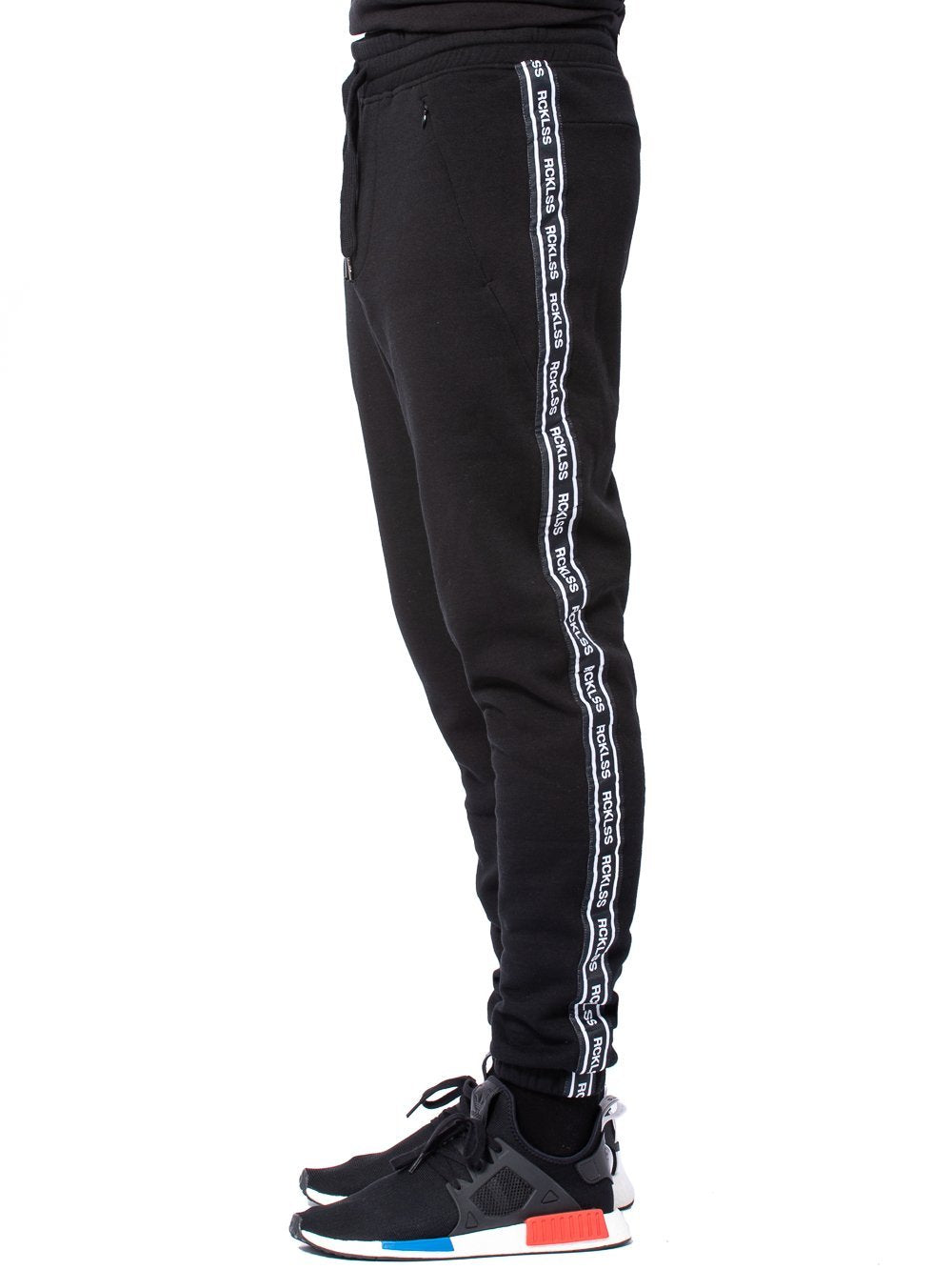 Young and Reckless Mens - Bottoms - Sweatpants Streamline Sweatpants - Black