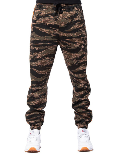 Young and Reckless Mens - Bottoms - Sweatpants Streamline Sweatpants - Camo Green