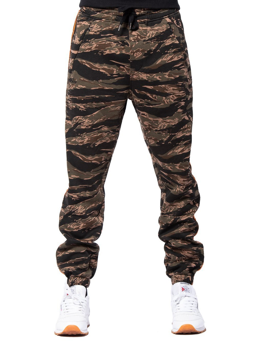 f2aca0195ae Young and Reckless Mens - Bottoms - Sweatpants Streamline Sweatpants - Camo  Green