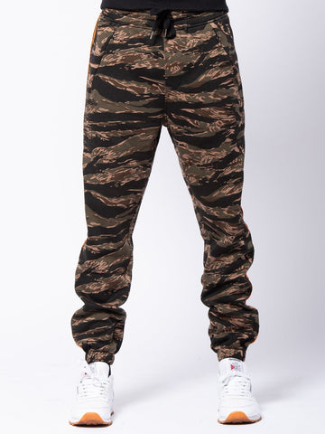 Streamline Sweatpants - Camo Green