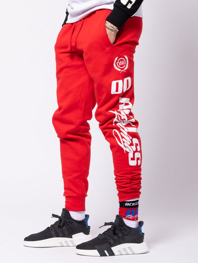 Young and Reckless Mens - Bottoms - Sweatpants Torque Sweatpants - Red
