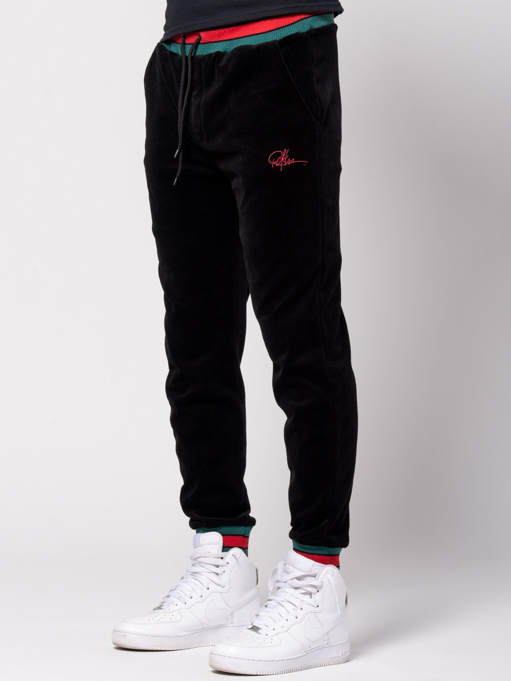 Young and Reckless Mens - Bottoms - Sweatpants Tristan Velour Sweatpants - Black