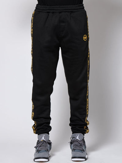 Young and Reckless Mens - Bottoms - Trackpants - Pursuit Track Pants - Black