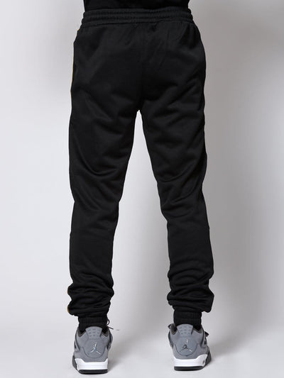 Young and Reckless Mens - Bottoms - Trackpants Pursuit Track Pants - Black