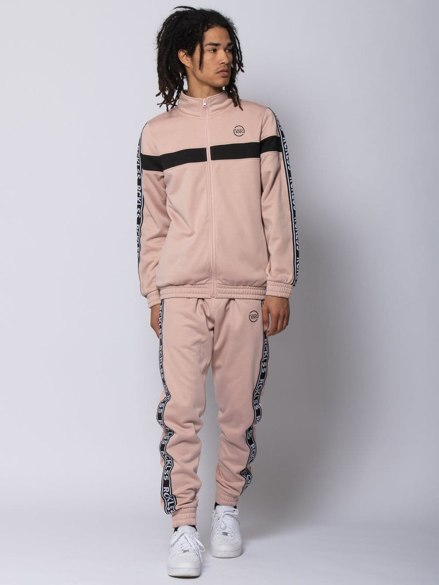 Pursuit Track Pants - Rose/Black