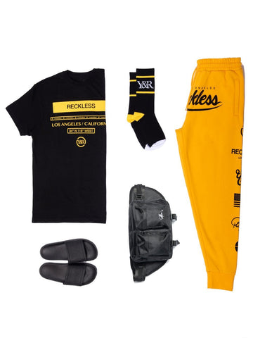 Young and Reckless Mens - Bundles District Bundle - Black/Gold