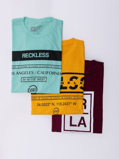 Young and Reckless Mens - Bundles Essentials Pack - Multi