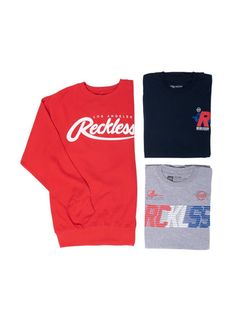 Young and Reckless Mens - Bundles Freedom Bundle - Blue/Red