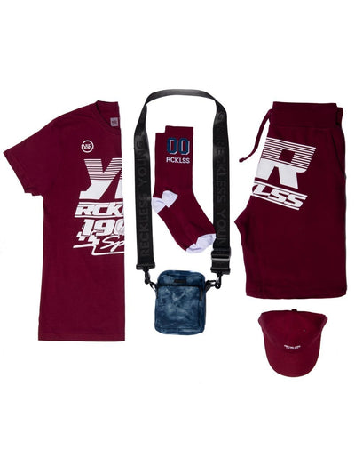 Full Turbo Bundle - Burgundy