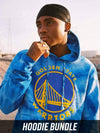 Young and Reckless Mens - Bundles Golden State Warriors Full Court Bundle - Tie Dye
