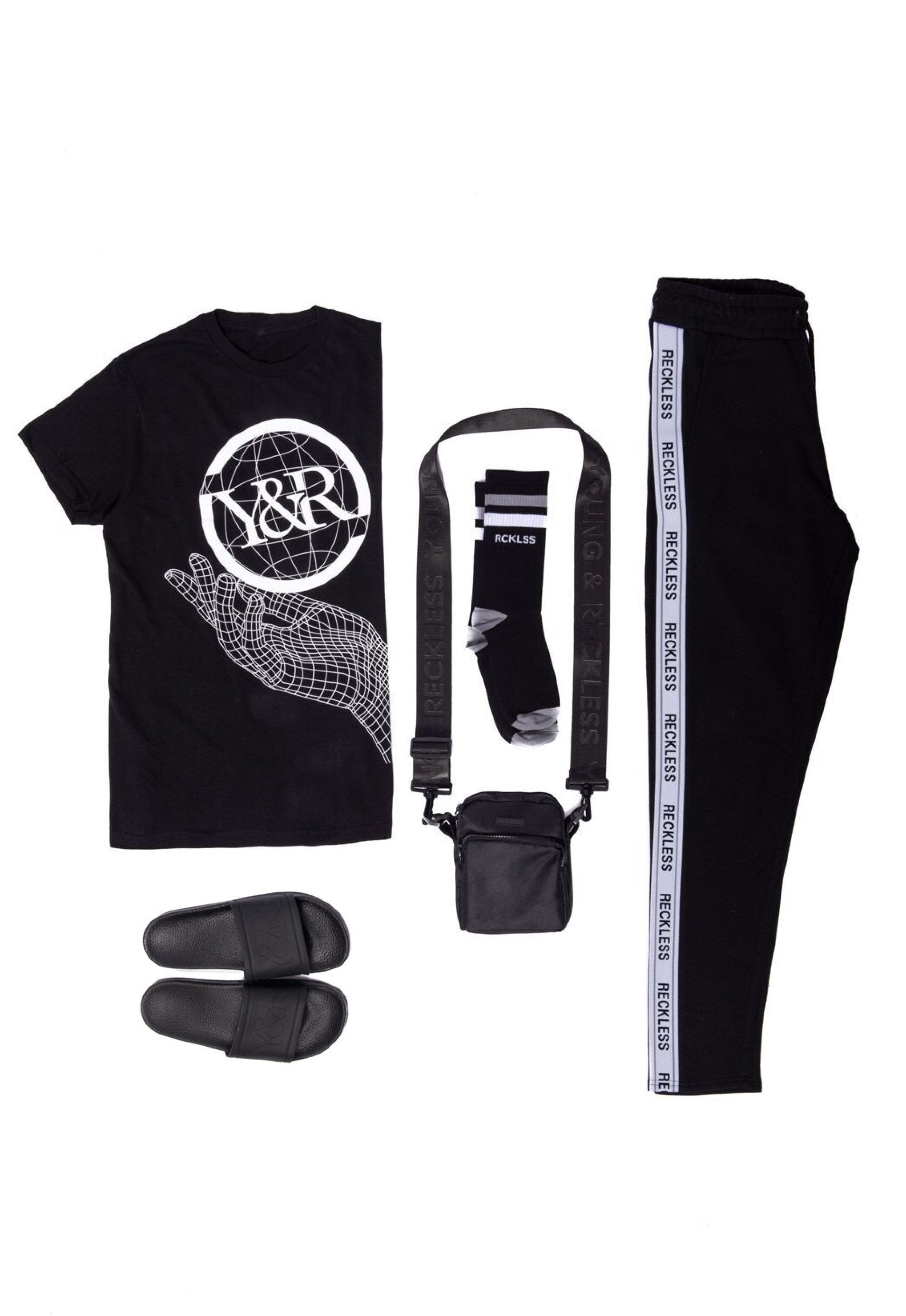 new arrival 6dd65 66172 Young and Reckless Mens - Bundles Grayscale Bundle - Black ...