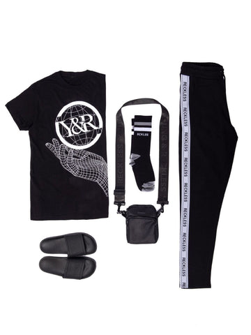 Young and Reckless Mens - Bundles Grayscale Bundle - Black