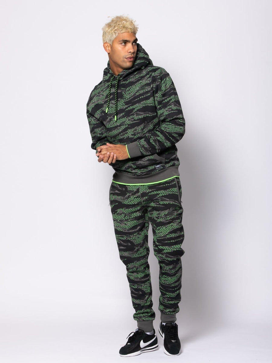 Harrier Two Piece Set - Green Camo