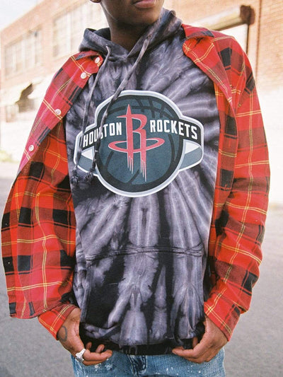 Young and Reckless Mens - Bundles Houston Rockets Full Court Bundle - Tie Dye