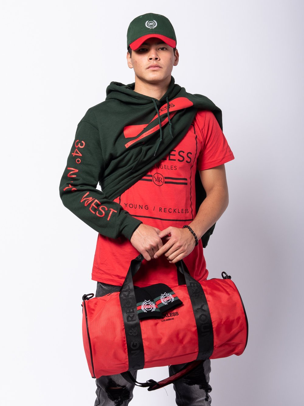 Young and Reckless Mens - Bundles Lavish Bundle - Red/Green