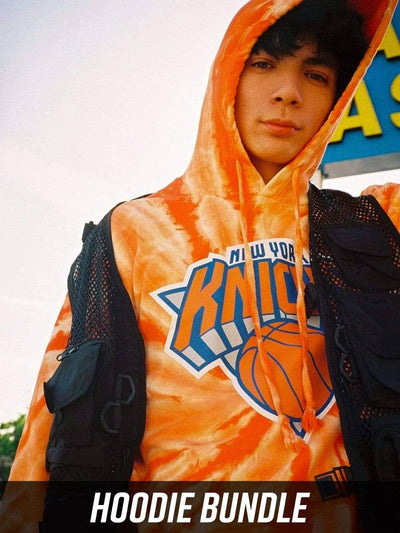 Young and Reckless Mens - Bundles New York Knicks Full Court Bundle - Tie Dye
