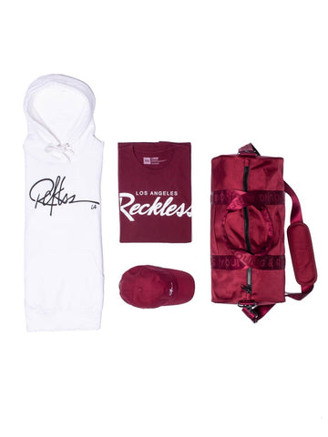 Young and Reckless Mens - Bundles OG Bundle - Burgundy/White