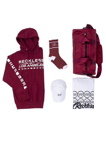 Young and Reckless Mens - Bundles Starboard Bundle - Burgundy/White