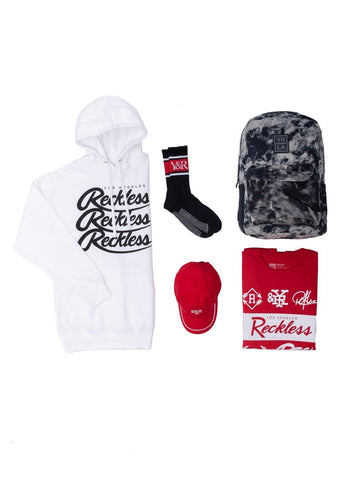 Young and Reckless Mens - Bundles Unauthorized Bundle - Red/White