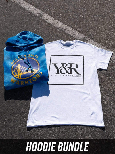 Young and Reckless Mens - Bundles Warriors Full Court Bundle - Tie Dye