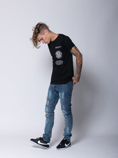 Young and Reckless Mens - Denim Avery Denim - Indigo