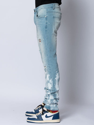 Young and Reckless Mens - Denim Conquest Denim - Light Indigo