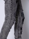 Young and Reckless Mens - Bottoms - Denim - Remington Denim - Black Acid