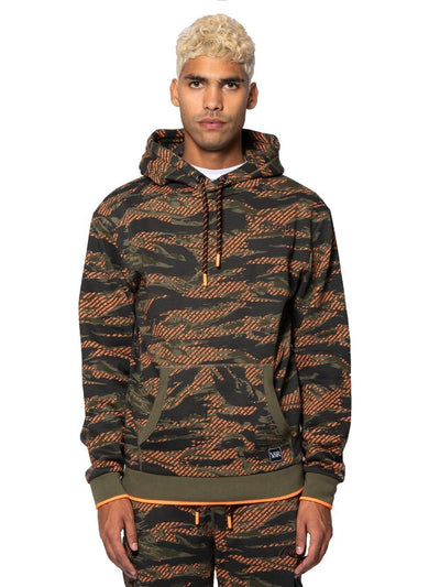 Young and Reckless Mens - Fleece - Hoodies Apache Hoodie -Orange