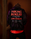 Young and Reckless Mens - Fleece - Hoodies Cyclone Hoodie - Black Tie Dye