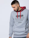 Young and Reckless Mens - Fleece - Hoodies Details Hoodie - Heather Grey