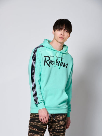 Young and Reckless Mens - Fleece - Hoodies Detour Hoodie - Ice