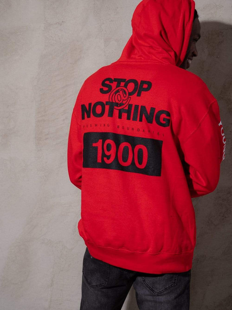 Fast Track Hoodie - Red