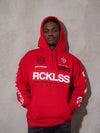 Young and Reckless Mens - Fleece - Hoodies Fast Track Hoodie - Red